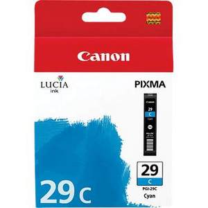Canon Lucia PGI 29C Cyan Ink Cartridge (29C)