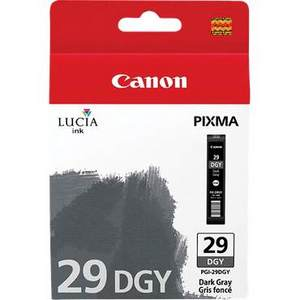 Canon Lucia PGI 29DGY Dark Grey Ink Cartridge (29DGY)