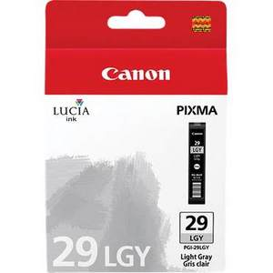 Canon Lucia PGI 29DGY Light Grey Ink Cartridge (29LGY)