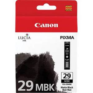 Canon Lucia PGI 29MBK Matte Black Ink Cartridge (29MBK)