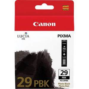 Canon Lucia PGI 29PBK Photo Black Ink Cartridge (29PBK)