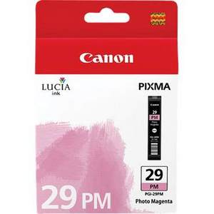 Canon Lucia PGI 29PM Photo Magenta Ink Cartridge (29PM)