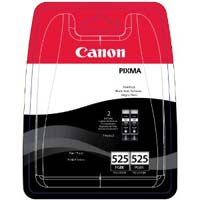Canon ChromaLife100+ PGI-525 PGBK Twin Black Ink Cartridges ( 525PGBK )
