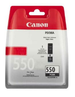 Canon PGI-550 Black Ink Cartridge - PGI 550 PGBK, 15ml