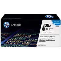 HP Original 308A Black Laser Toner Cartridge - Q2670A