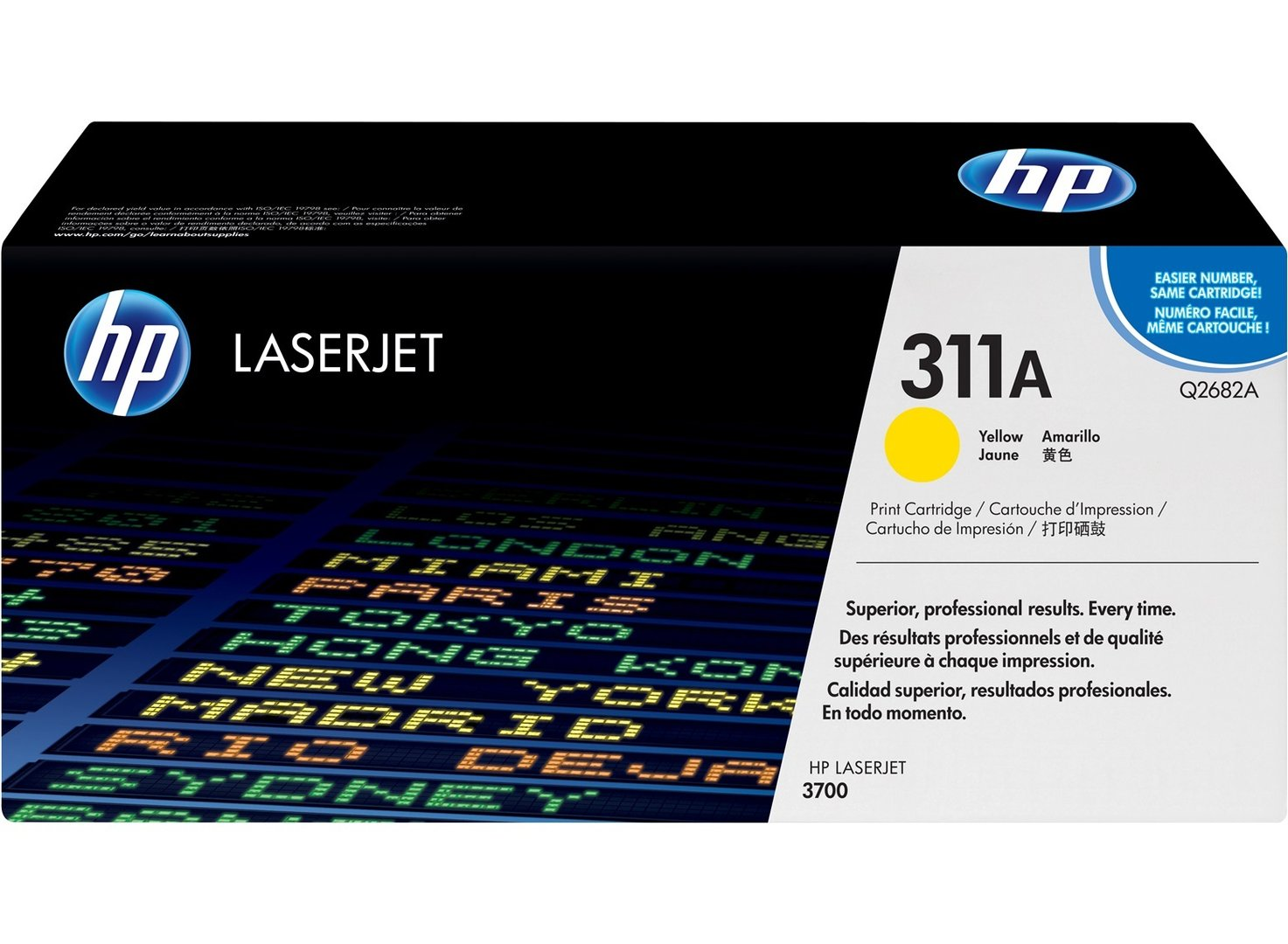 HP Original 311A Yellow Laser Toner Cartridge - Q2682A