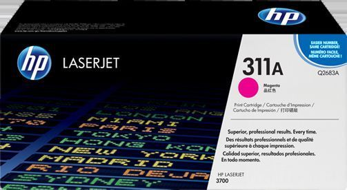 HP Original 311A Magenta Laser Toner Cartridge - Q2683A