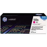 HP Original Q3973A Magenta Laser Toner Cartridge (123A), 2K Page Yield