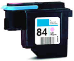 Replacement Premium Quality 84 Light Magenta Printhead Cartridge for C5021A