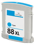 Replacement Premium Quality 88XL High Capacity Cyan Ink Cartridge for C9391A