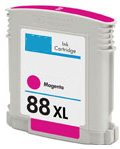 Replacement Premium Quality 88XL High Capacity Magenta Ink Cartridge for C9392A