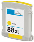 Replacement Premium Quality 88XL High Capacity Yellow Ink Cartridge for C9393A