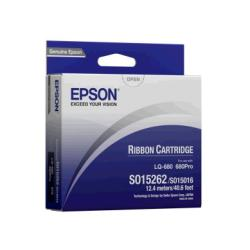 Epson S015262 Black Fabric Ribbon - C13S015262