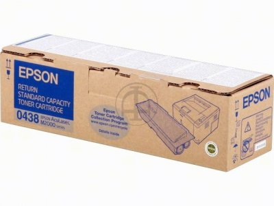 Epson C13S050438 Standard Capacity Return Program Toner Cartridge, 3.5K Page Yield