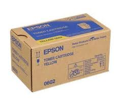 Epson C13S050602 Yellow Toner Cartridge, 7.5K Page Yield