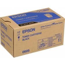 Epson C13S050605 Black Toner Cartridge, 6.5K Page Yield