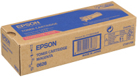Epson C13S050628 Magenta Toner Cartridge, 2.5K Page Yield