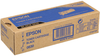 Epson C13S050630 Black Toner Cartridge, 3K Page Yield