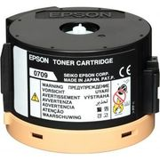 Epson S050709 Toner Cartridge, 2.5K Page Yield