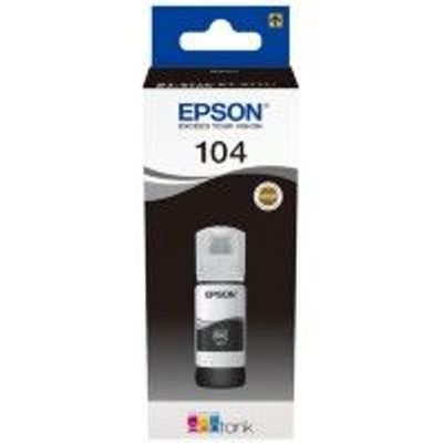 Epson 104 Ecotank Black Ink Bottle - T00P1