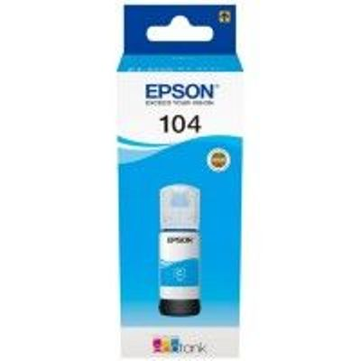 Epson 104 Ecotank Cyan Ink Bottle - T00P2