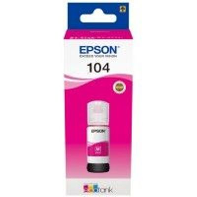Epson 104 Ecotank Magenta Ink Bottle - T00P3
