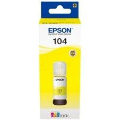Epson 104 Ecotank Yellow Ink Bottle - T00P4