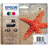 High Capacity Multipack Epson 603XL Ink Cartridge - T03A640