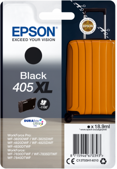High Capacity Black Epson 405XL Ink Cartridge - T05H140