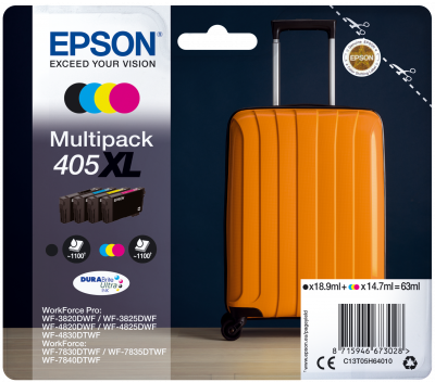 High Capacity Multipack Epson 405XL Ink Cartridge - T05H640