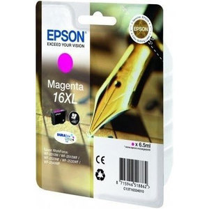 Epson 16XL Durabrite Ultra Magenta Ink Cartridge - T1633 , 450 Page Yield