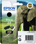 Epson 24 Black Ink Cartridge - T2421 Elephant Claria Photo HD, 5.1ml