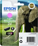 Epson 24 Light Magenta Ink Cartridge - T2426 Elephant Claria Photo HD, 5.1ml