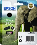 Epson 24XL Black Ink Cartridge - T2431 Elephant Claria Photo HD, 10ml