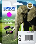 Epson 24XL Magenta Ink Cartridge - T2433 Elephant Claria Photo HD, 8.7ml