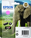 Epson 24XL Light Magenta Ink Cartridge - T2436 Elephant Claria Photo HD, 9.8ml