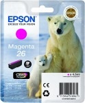 Magenta Genuine Epson 26 Ink Cartridge (T2613 Printer Cartridge)