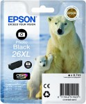 Light Black Genuine Epson 26XL Ink Cartridge (T2631 Printer Cartridge)