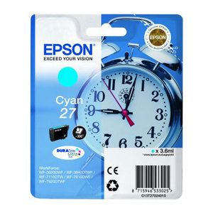 Epson 27 Cyan T2702 Ink Cartridge