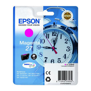 Epson 27 Magenta T2703 Ink Cartridge