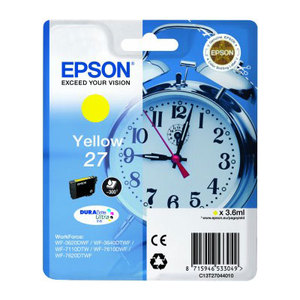 Epson 27 Yellow T2704 Ink Cartridge