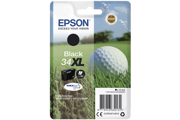 Black Epson 34XL Ink Cartridge (T3471 Printer Cartridge)