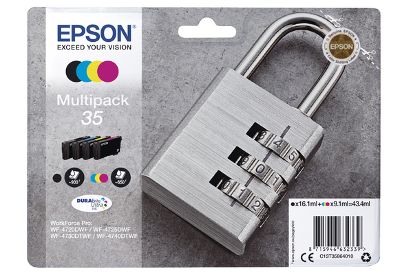 Multipack Epson 35 Ink Cartridge (T3586) Printer Cartridge