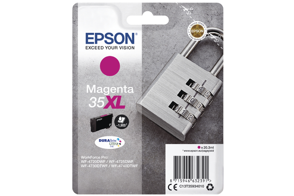 Magenta Epson 35XL Ink Cartridge (T3593) Printer Cartridge