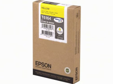 Epson DURABrite T6164 Standard Capacity Yellow Ink Cartridge C13T616400