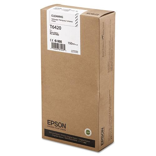 Epson T6420 Cleaning Ink Cartridge C13T642000, 150ml
