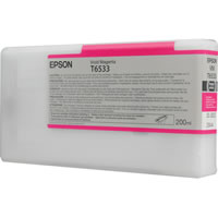 Epson T6533 Vivid Magenta Ink Cartridge C13T653300, 200ml