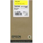 Epson T6534 Yellow Ink Cartridge C13T653400, 200ml
