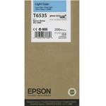 Epson T6535 Light Cyan Ink Cartridge C13T653500, 200ml