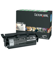 Lexmark Extra High Capacity Return Program Toner Cartridge, 36K Yield